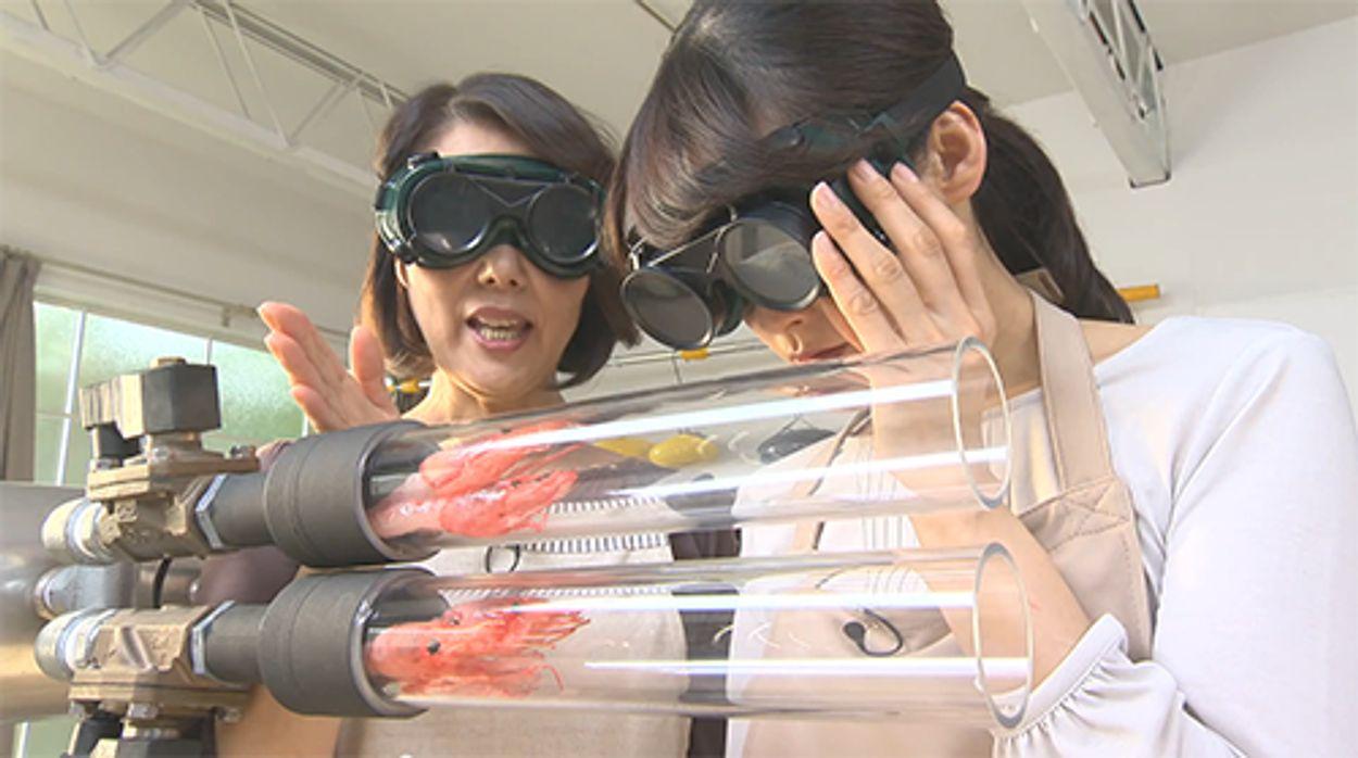 Afbeelding van Web Draait Door: garnalen op z'n Japans