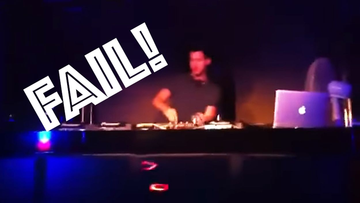 Afbeelding van Web Draait Door: pijnlijke DJ Fails