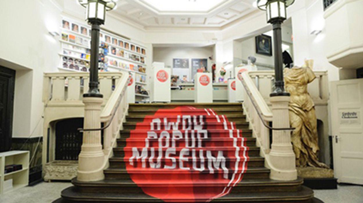 Afbeelding van 10.000 Bezoekers DWDD Pop-Up Museum