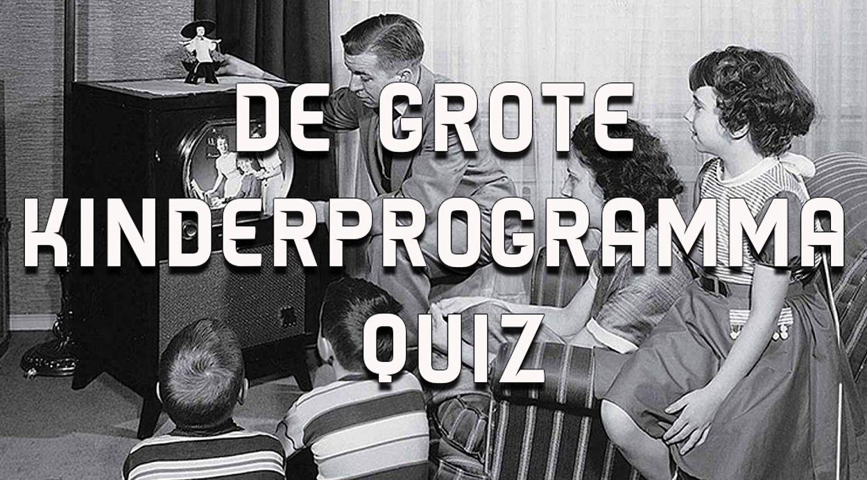 Afbeelding van De grote kinder-TV quiz! Welke intro hoort bij welke jeugdserie?