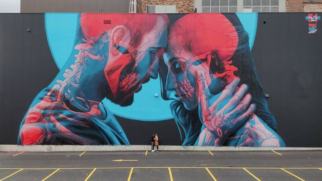 Afbeelding van Web Draait Door: Double Exposure 3D-graffiti