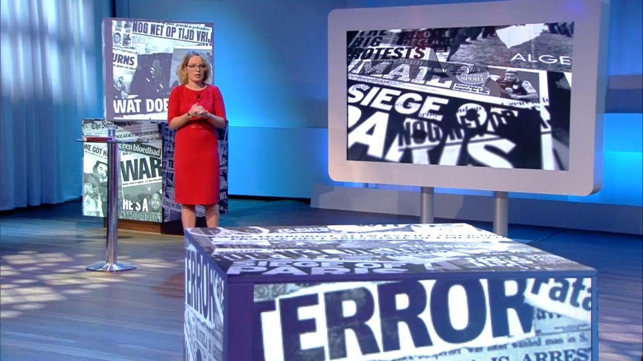 Afbeelding van Terugkijken: college Terrorisme door Beatrice de Graaf