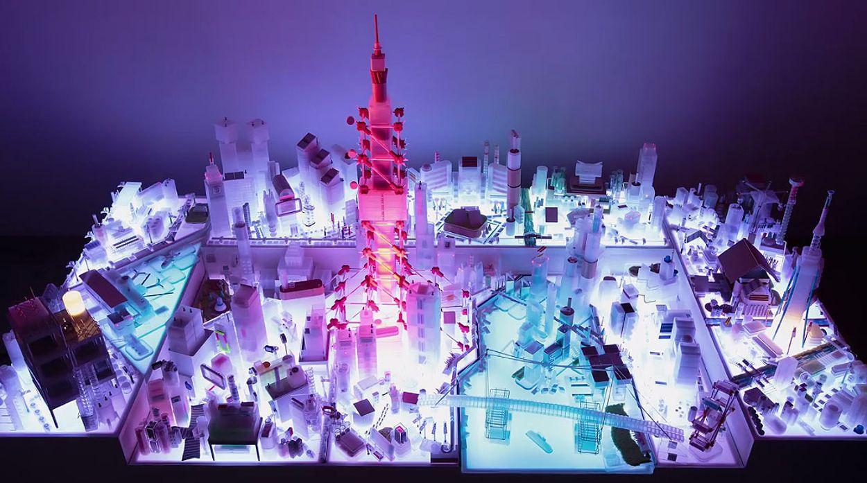 Afbeelding van Web Draait Door: Prachtig Tokyo in miniatuur