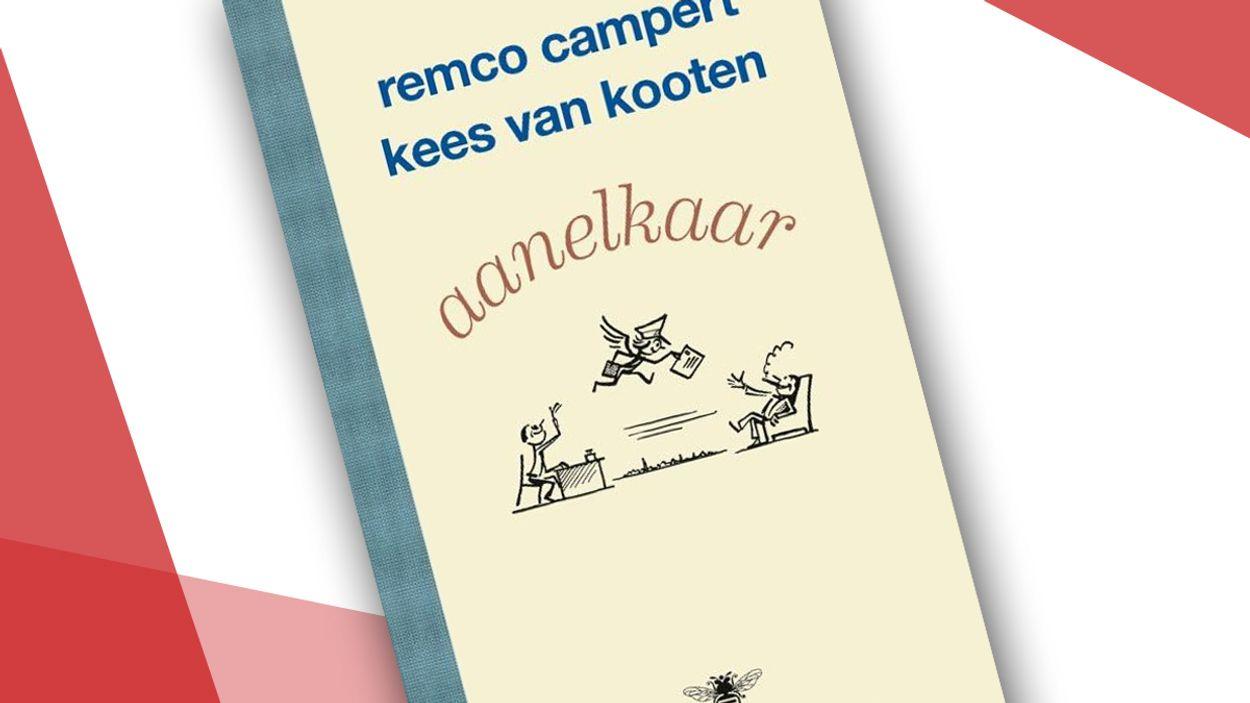 Afbeelding van Boek: Aanelkaar - briefwisselingen tussen Remco Campert en Kees van Kooten