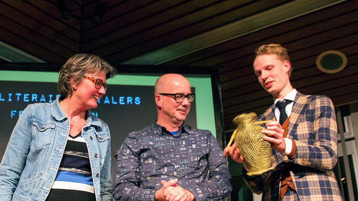 Afbeelding van Boekenpanel wint prijs!