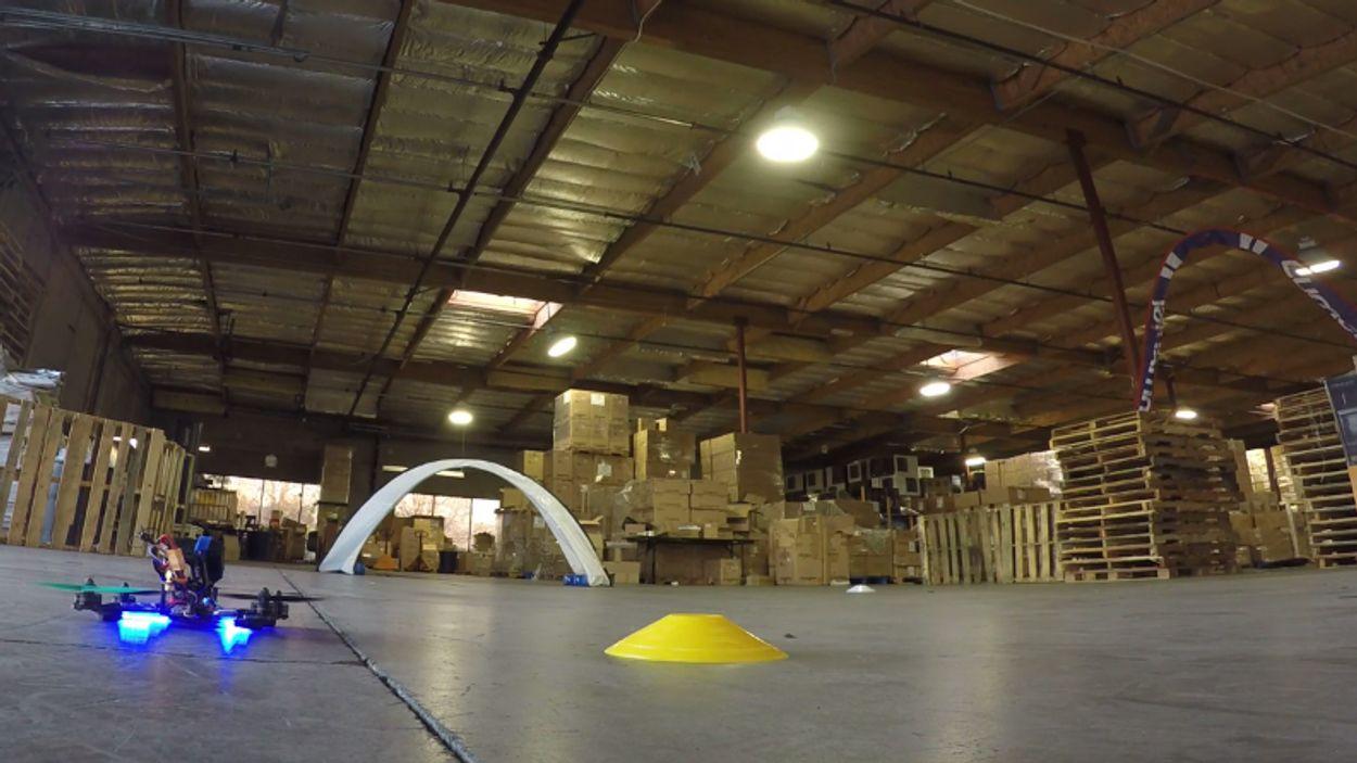 Afbeelding van Web Draait Door: Drone race