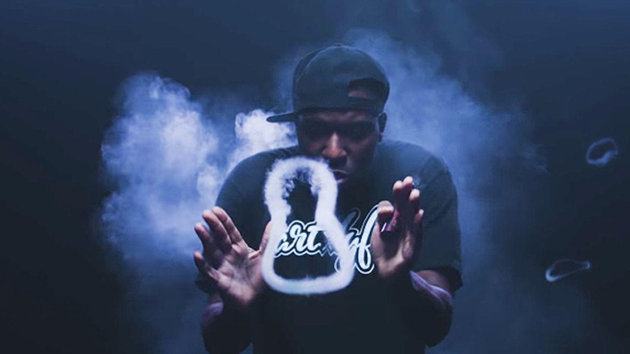 Afbeelding van Web Draait Door: creatief met rook