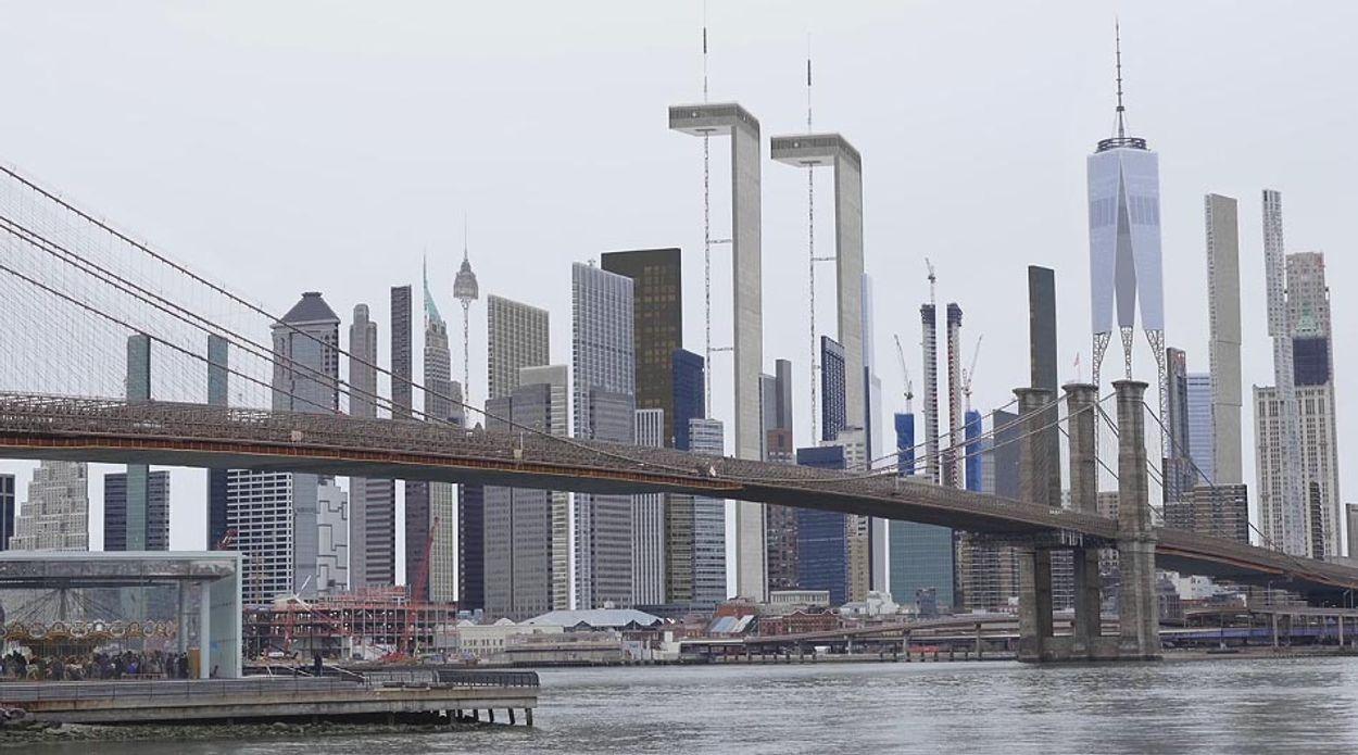 Afbeelding van Web Draait Door: New York als decor