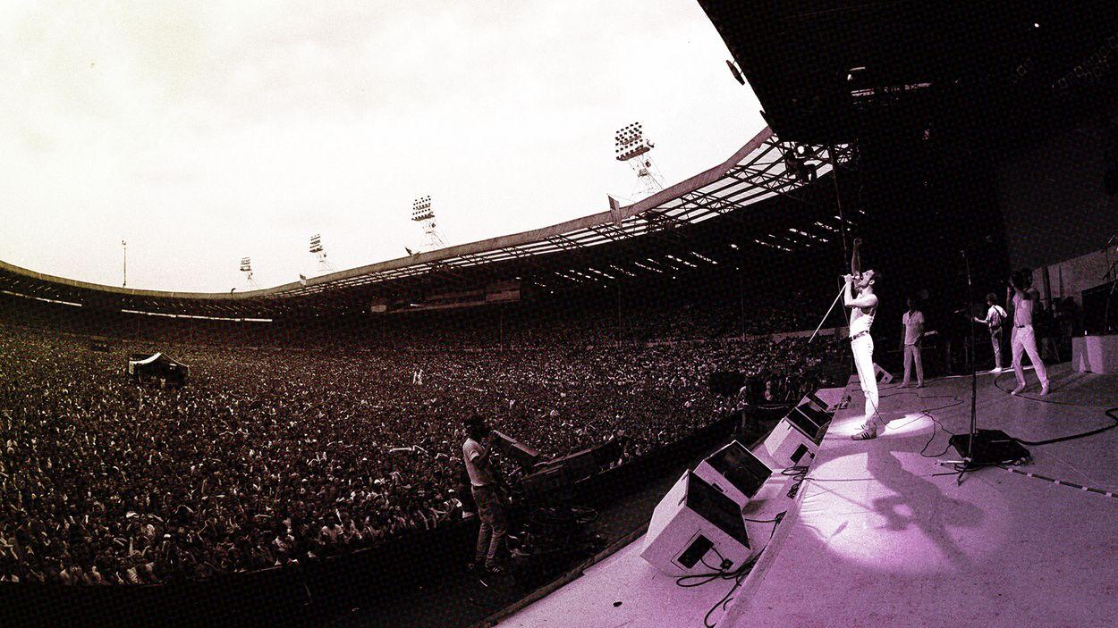 Afbeelding van Zes legendarische Live Aid-optredens