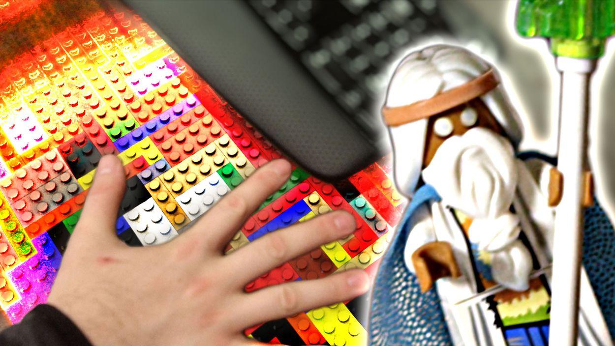 Afbeelding van Web Draait Door: Lego Man!