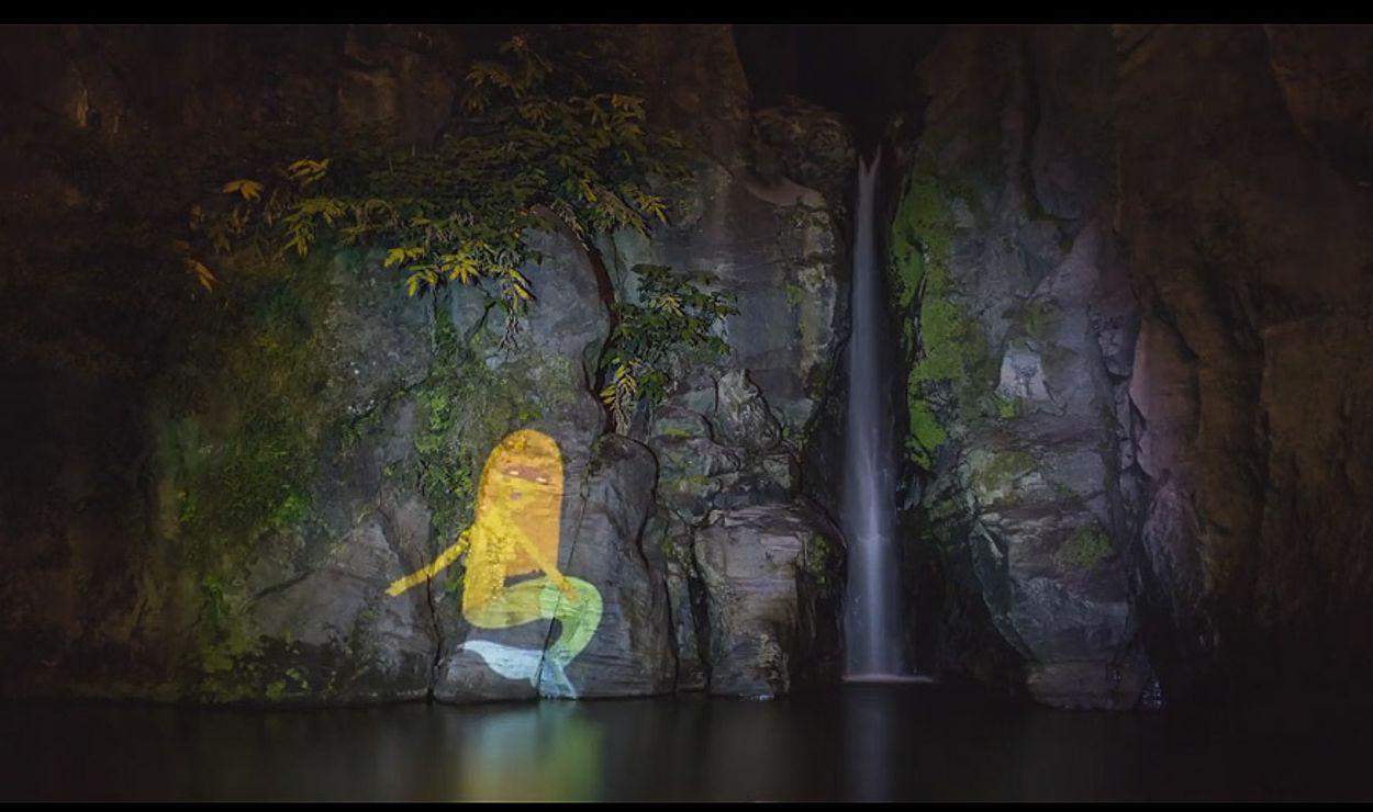 Afbeelding van Web Draait Door: prachtige projecties op het eiland São Miguel