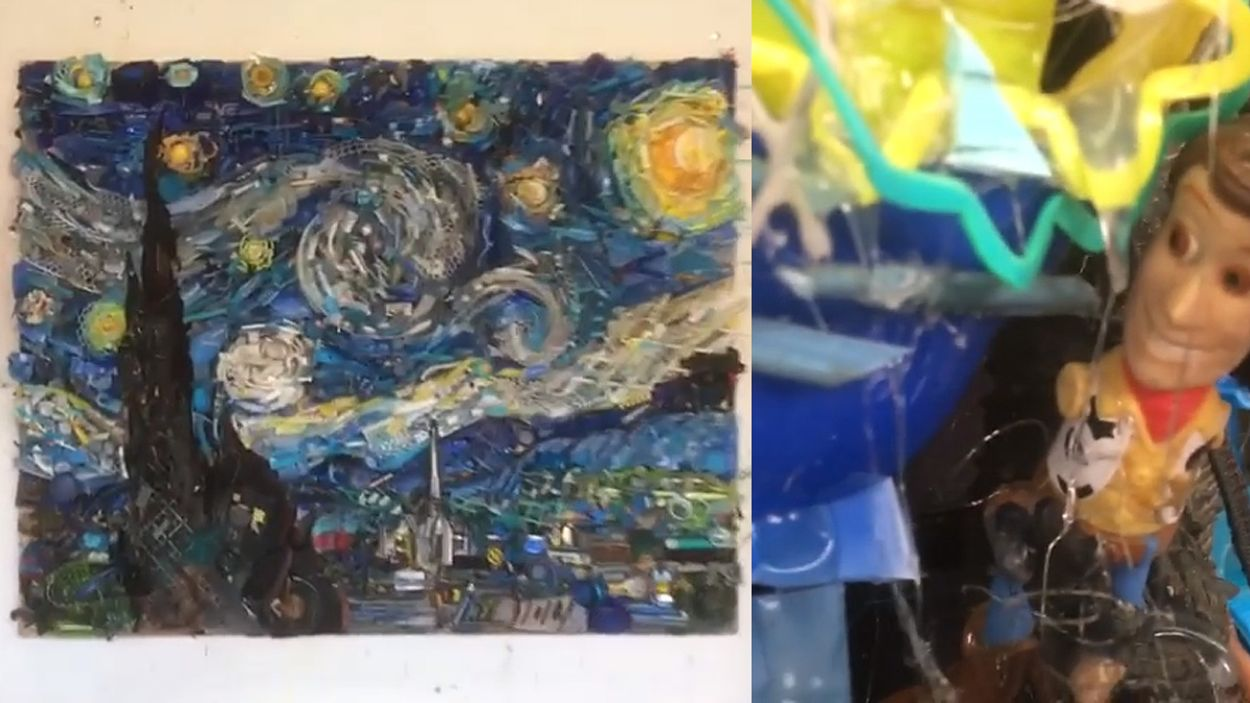 Afbeelding van Web Draait Door: Van Gogh van afval