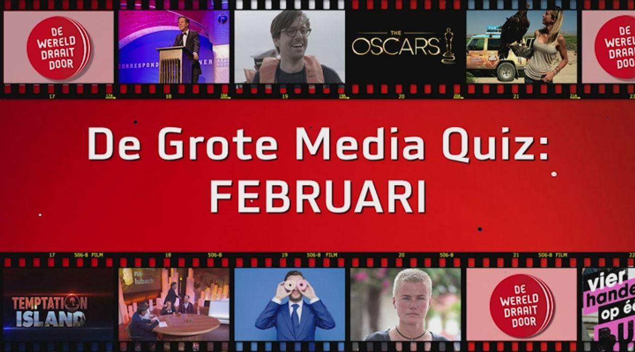 Afbeelding van De Grote Media Quiz: Februari