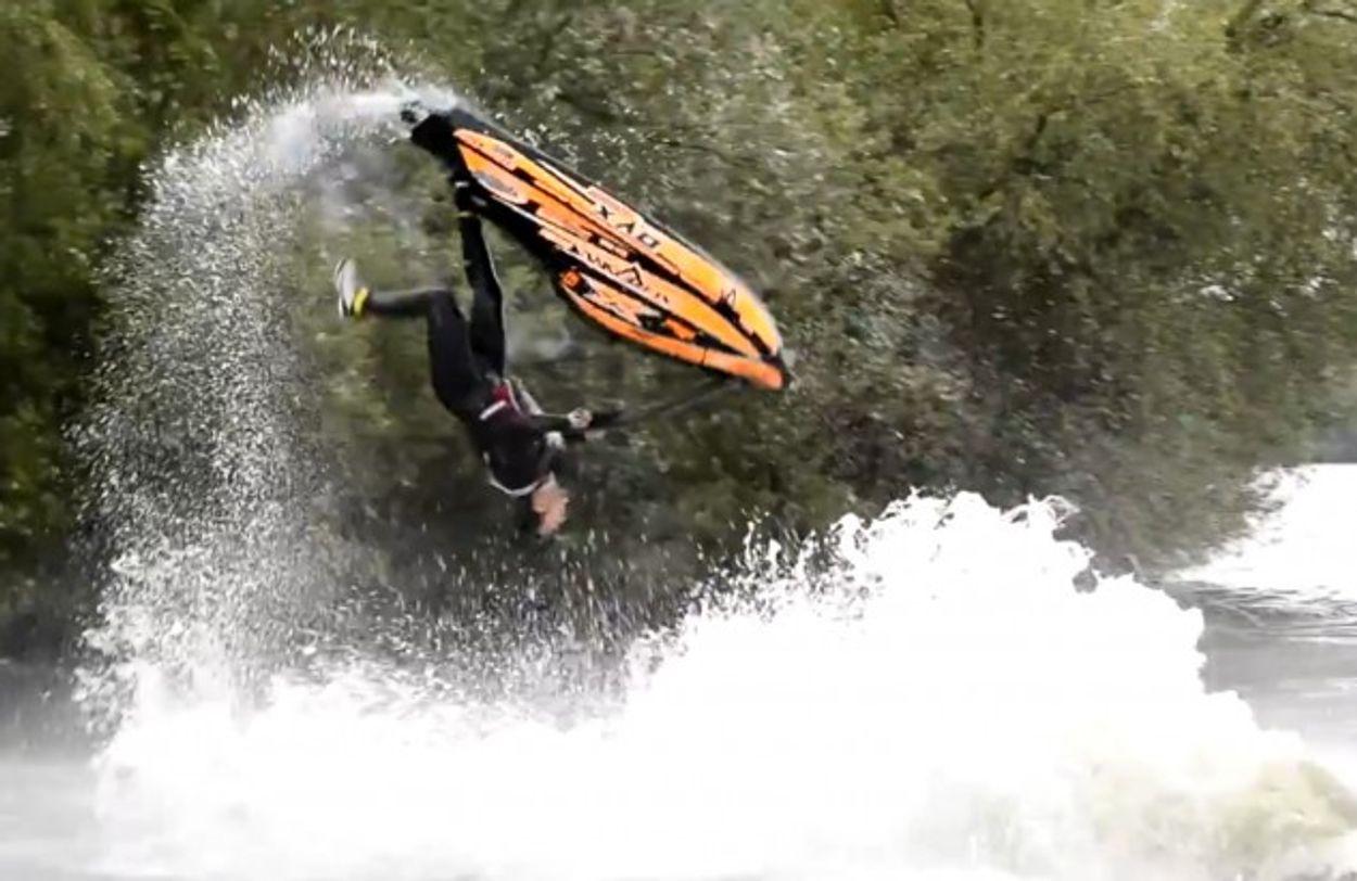 Afbeelding van Web Draait Door: Jet Ski stunts