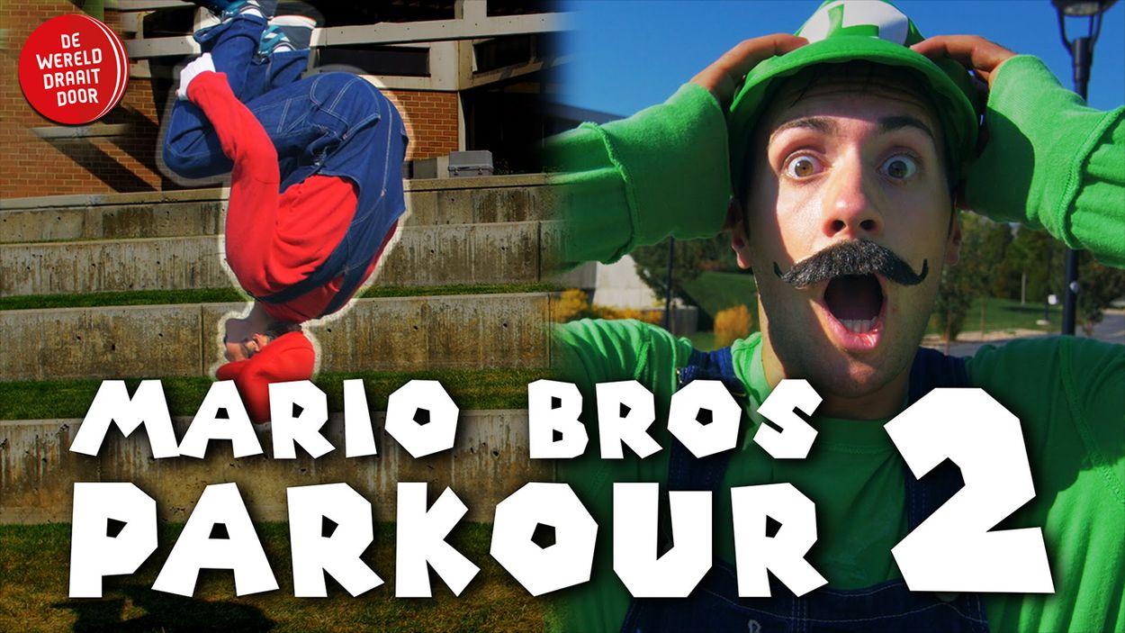 Afbeelding van Web Draait Door: De Super Mario Bros Leven!
