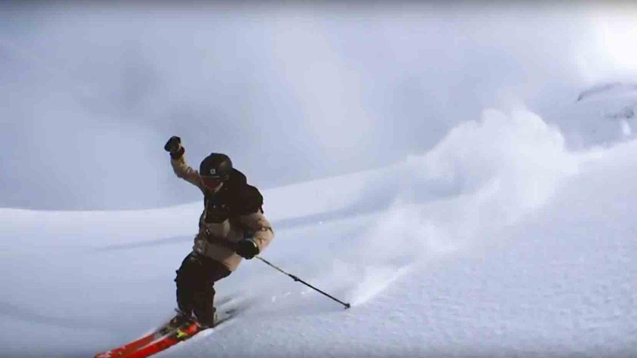 Afbeelding van Web Draait Door: Ski-experiment met smartphone
