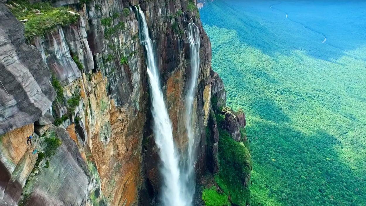 Afbeelding van Web Draait Door: Hoogste waterval ter wereld