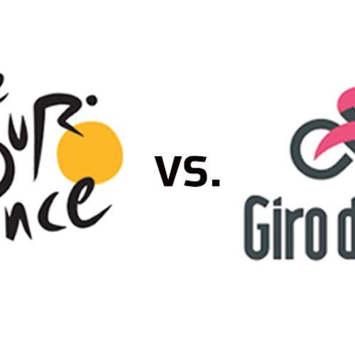 Afbeelding van Tour de France VS Giro d'Italia