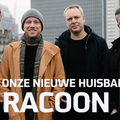 Afbeelding van Racoon is onze huisband in seizoen 14!