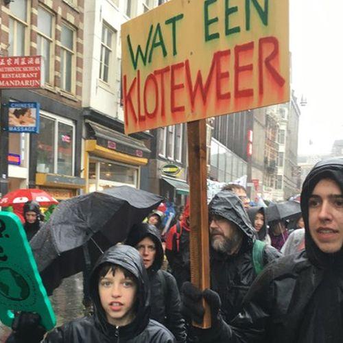 Afbeelding van Web Draait Door: klimaatmars-borden